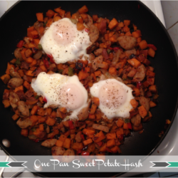 One Pan Sweet Potato Hash – $1.14 per serving