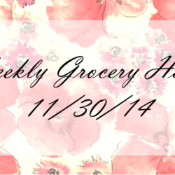 Weekly Grocery Haul: 11/30/14