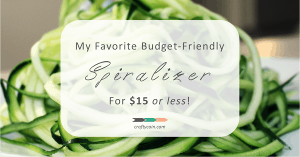 My Favorite Budget-Friendly Spiralizer