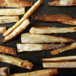 Baked Yuca Fries