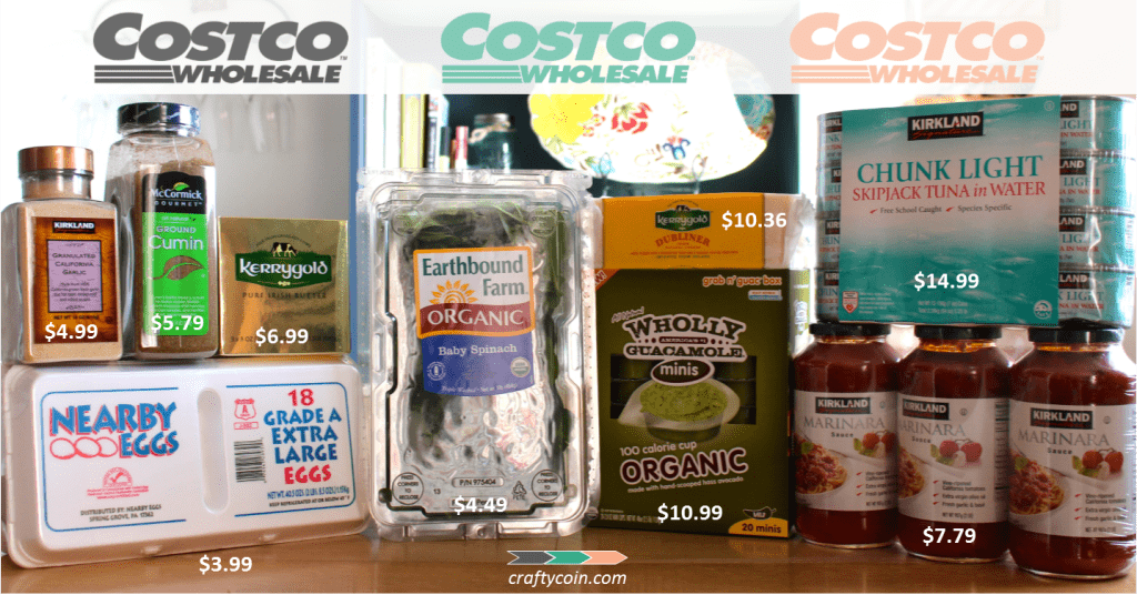 Clean Eating on a budget at Costco | Crafty Coin