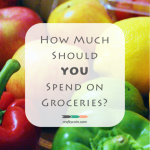 How Much Should YOU Spend on Groceries - square