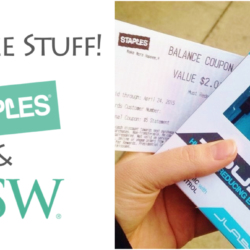 Get Free Stuff at Staples & DSW!