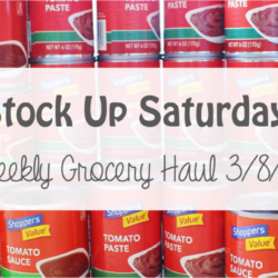 Stock Up Saturday: Weekly Grocery Haul 3/8/15