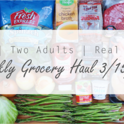 Weekly Grocery Haul 3/15/15