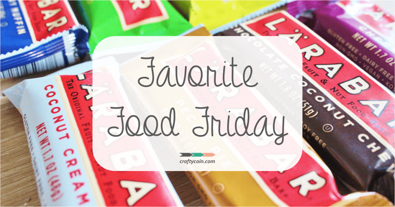 Favorite Food Friday: Larabar