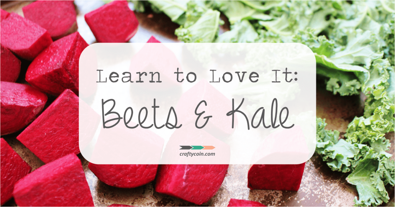 Easy Roasted Beets and Kale Chips