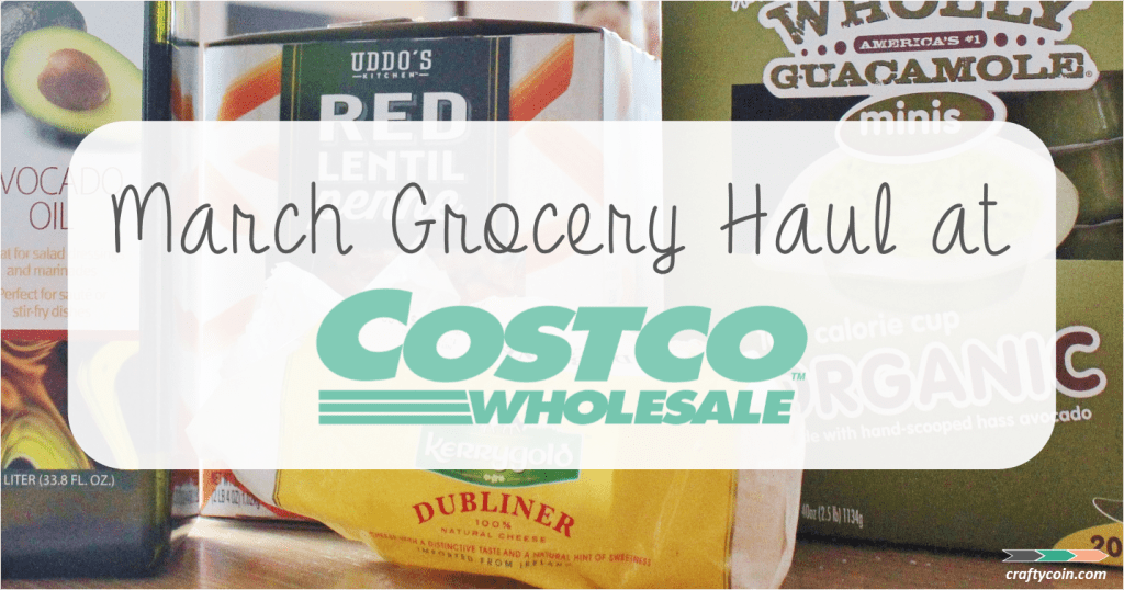 March Costco Grocery Haul