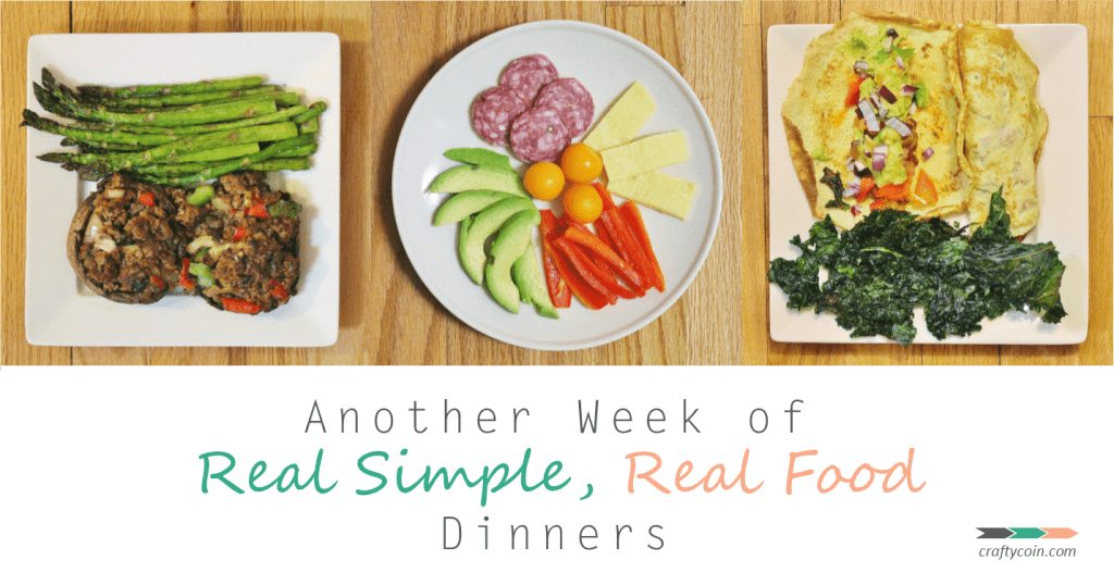 Another Week of Real Simple Real Food Dinners