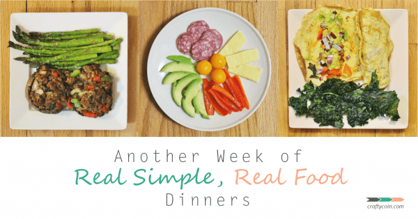 Another Week of Real Simple, Real Food Dinners
