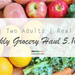 Real Food Grocery Haul // Week of 5.10.15