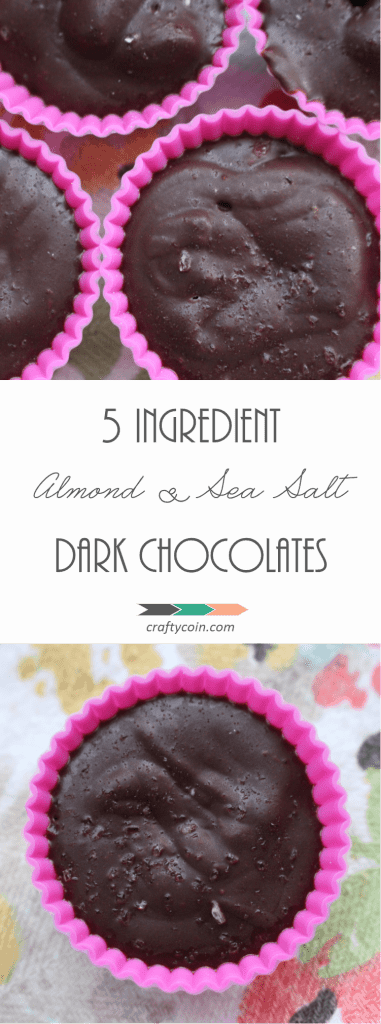These #chocolates are made with just a handful of ingredients you likely already have in your cupboard! Plus, they are #paleo, #vegan, and #frugal! | Crafty Coin