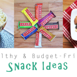 6 Healthy & Budget-Friendly Snack Ideas