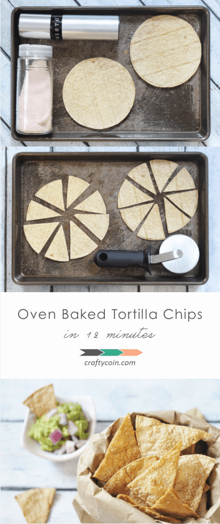 Don't throw away those dried out tortillas; make chips! | Crafty Coin #frugal #simple #realfood #DIY