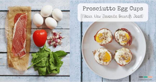 Prosciutto Egg Cups (Your New Favorite Brunch Food)