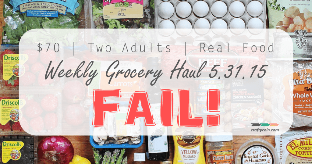 Real Food Grocery Haul 5.31.15