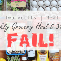 FAIL! Real Food Grocery Haul // Week of 5.31.15