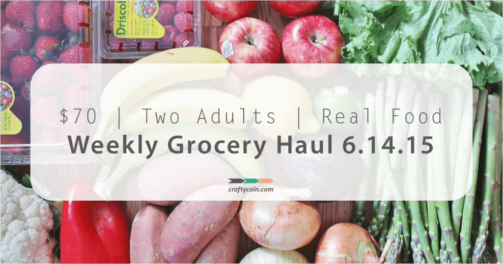 Real Food Grocery Haul 6.14.15