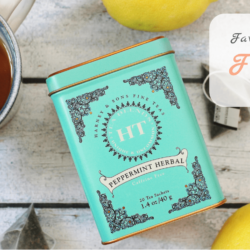 Favorite Food Friday: HT Peppermint Tea