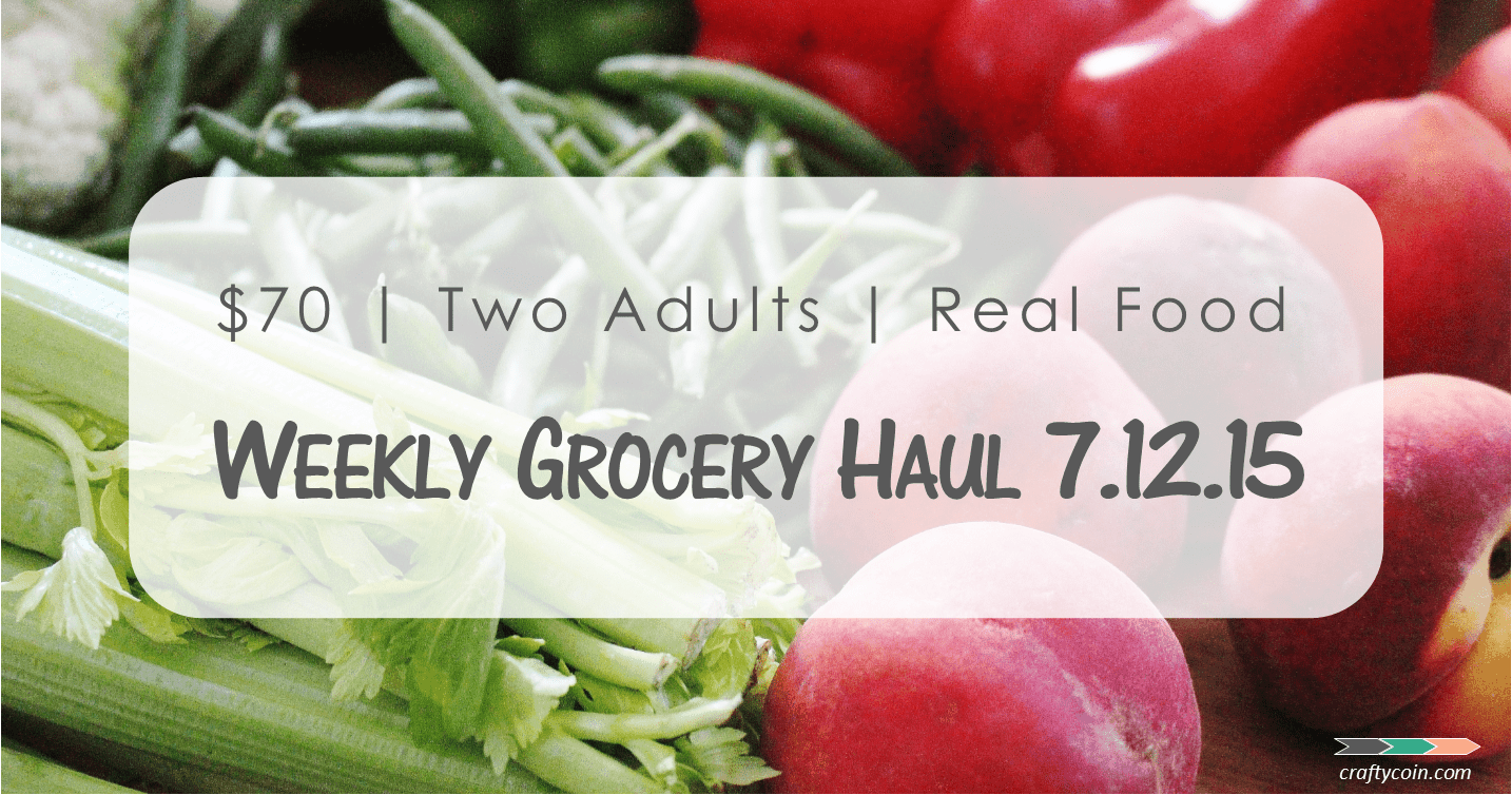 Real Food Grocery Haul // Week of 7.12.15