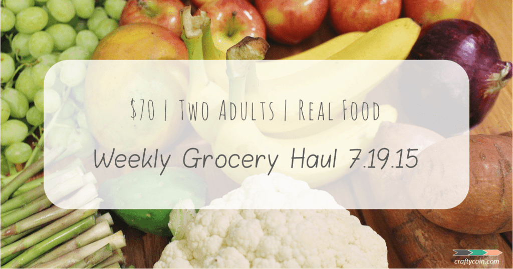 Real Food Grocery Haul 7.19.15