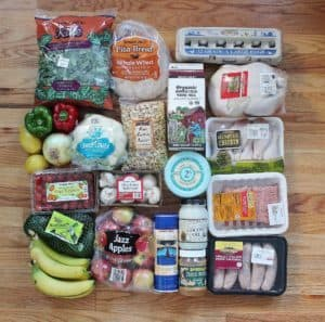 Here's a peak at my Trader Joe's grocery haul. Find out what I'm making with these ingredients!