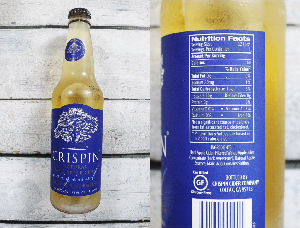 Crispin Nutrition Facts & Ingredients