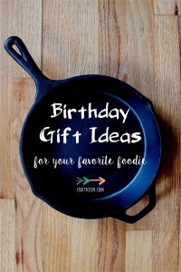 Foodie Gift Ideas | Crafty Coin