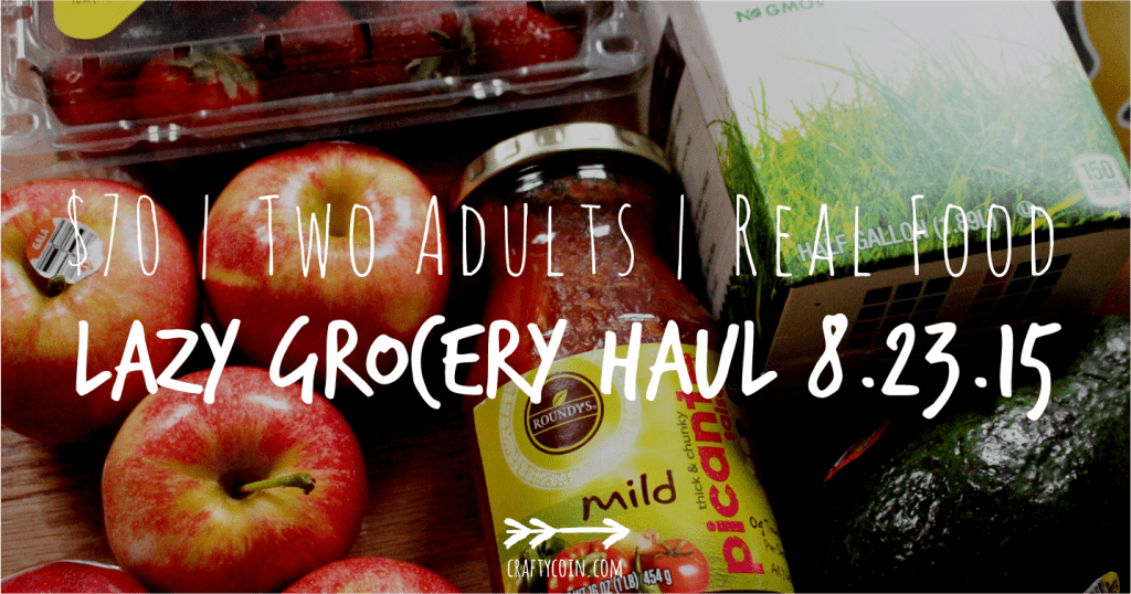 Lazy Real Food Grocery Haul 8.23.15
