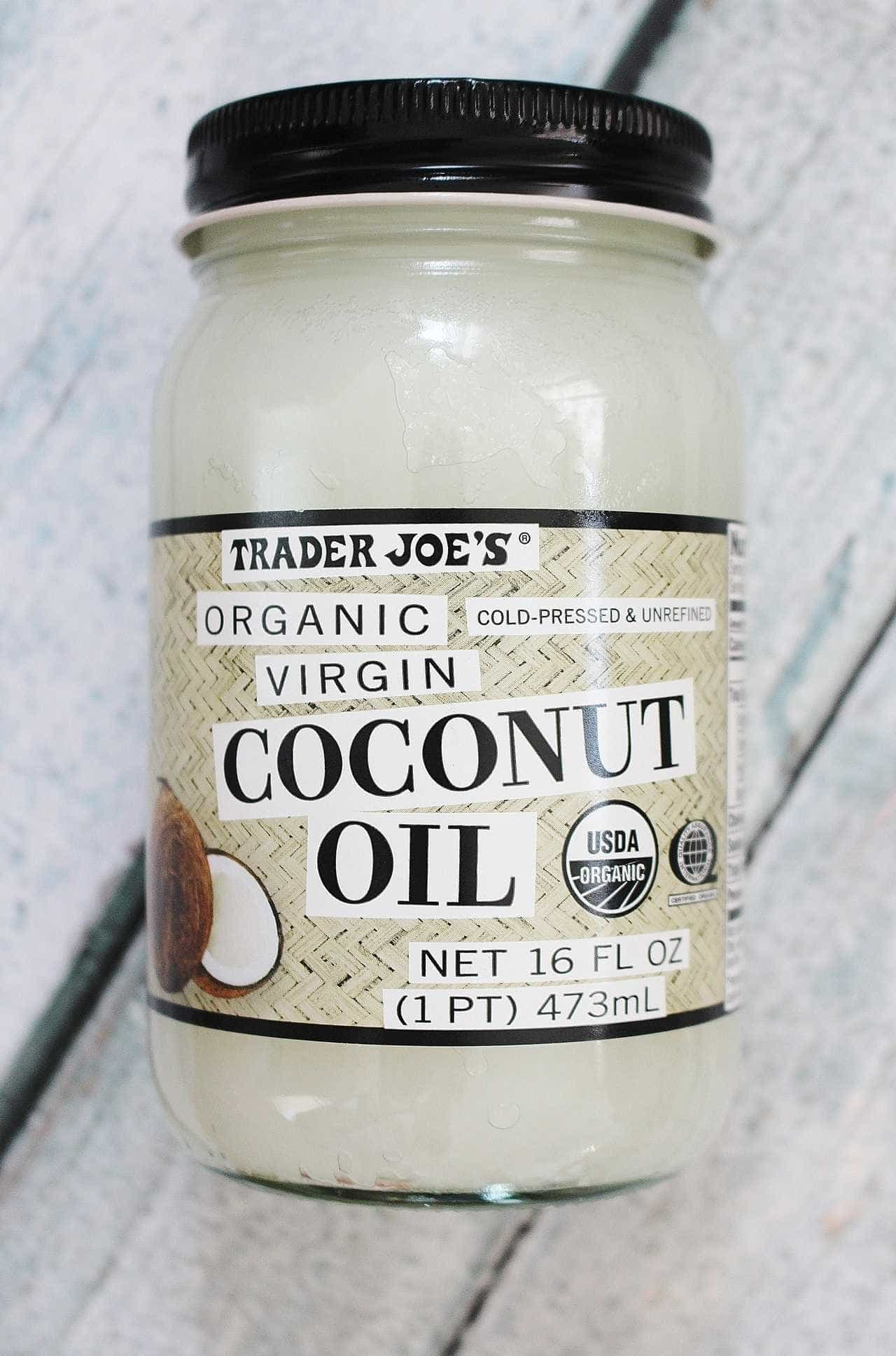 Favorite Food Friday: Trader Joe\'s Coconut Oil - Crafty Coin