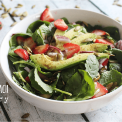 Baby Kale & Spinach Strawberry Salad – $.89 per serving