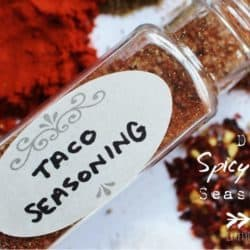 DIY Spicy Taco Seasoning – $.18 per serving