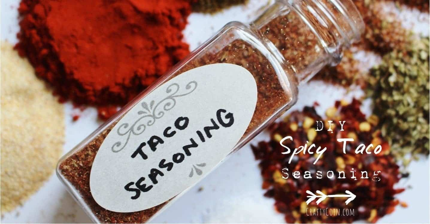 DIY Spicy Taco Seasoning