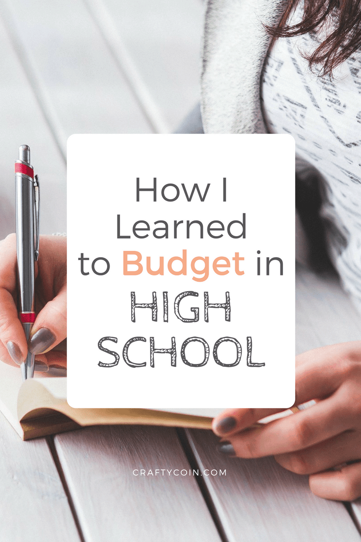 Want to teach good money habits to your kids? Putting them on a budget in high school will set them up for financial success.
