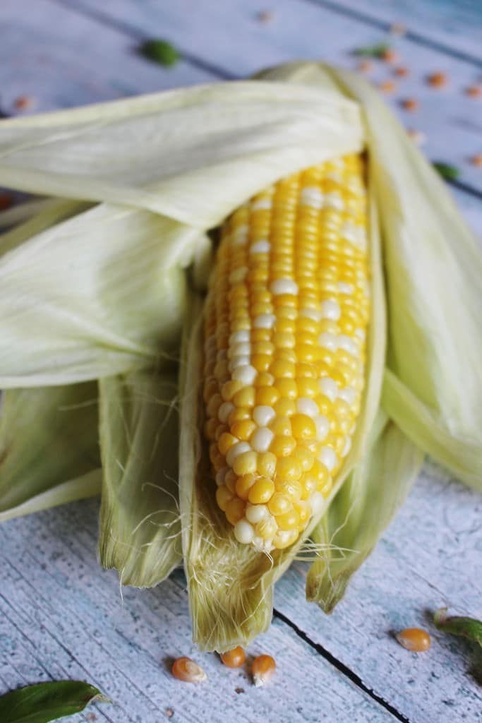 Sweet Basil Corn on the Cob | Crafty Coin