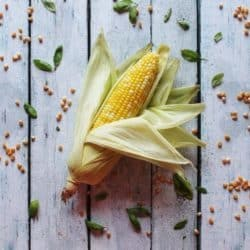 Sweet Basil Corn on the Cob in the Microwave – $.36 per serving