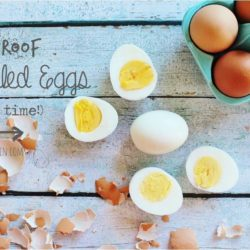 Foolproof Hard Boiled Eggs (every time!)