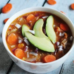 Slow Cooker Chicken & Salsa Soup – $1.66 per serving