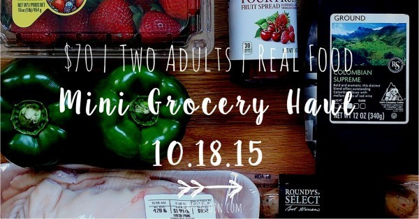 Mini Grocery Haul 10.18.18