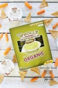 Favorite Food Friday: Wholly Guacamole Minis | Crafty Coin