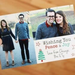 How to Create DIY Holiday Cards for Under $.50 (including postage!)