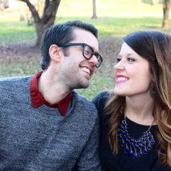 Frugal Fashion: Couples Holiday Card Look