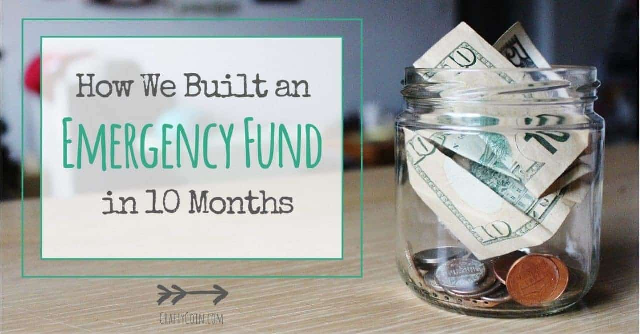 How We Built an Emergency Fund in 10 Months
