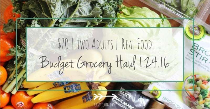 Mariano's Grocery Haul 1.24.16 - Crafty Coin