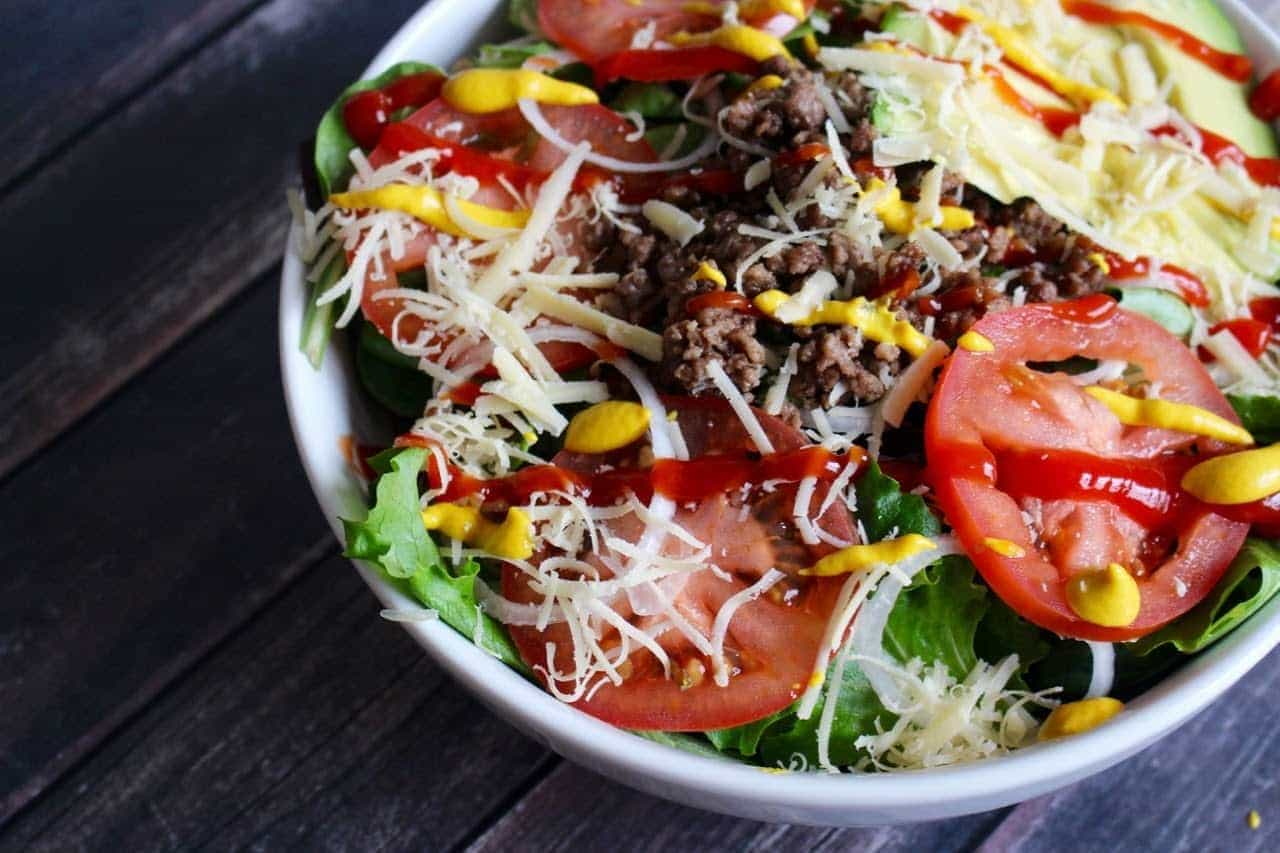 Next time you're having burgers, try making them a salad.