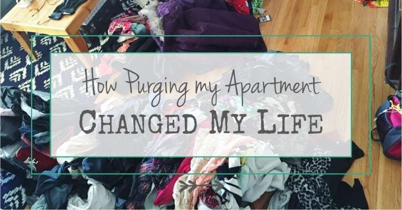 How Purging My Apartment Changed My Life