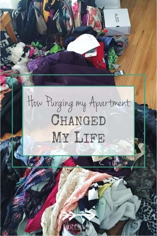 How Purging My Apartment Changed My Life - Crafty Coin