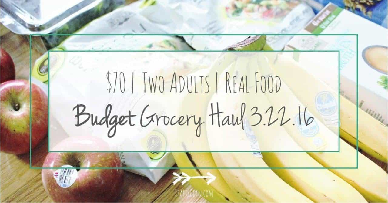 Healthy Budget Grocery Haul 3.22.16