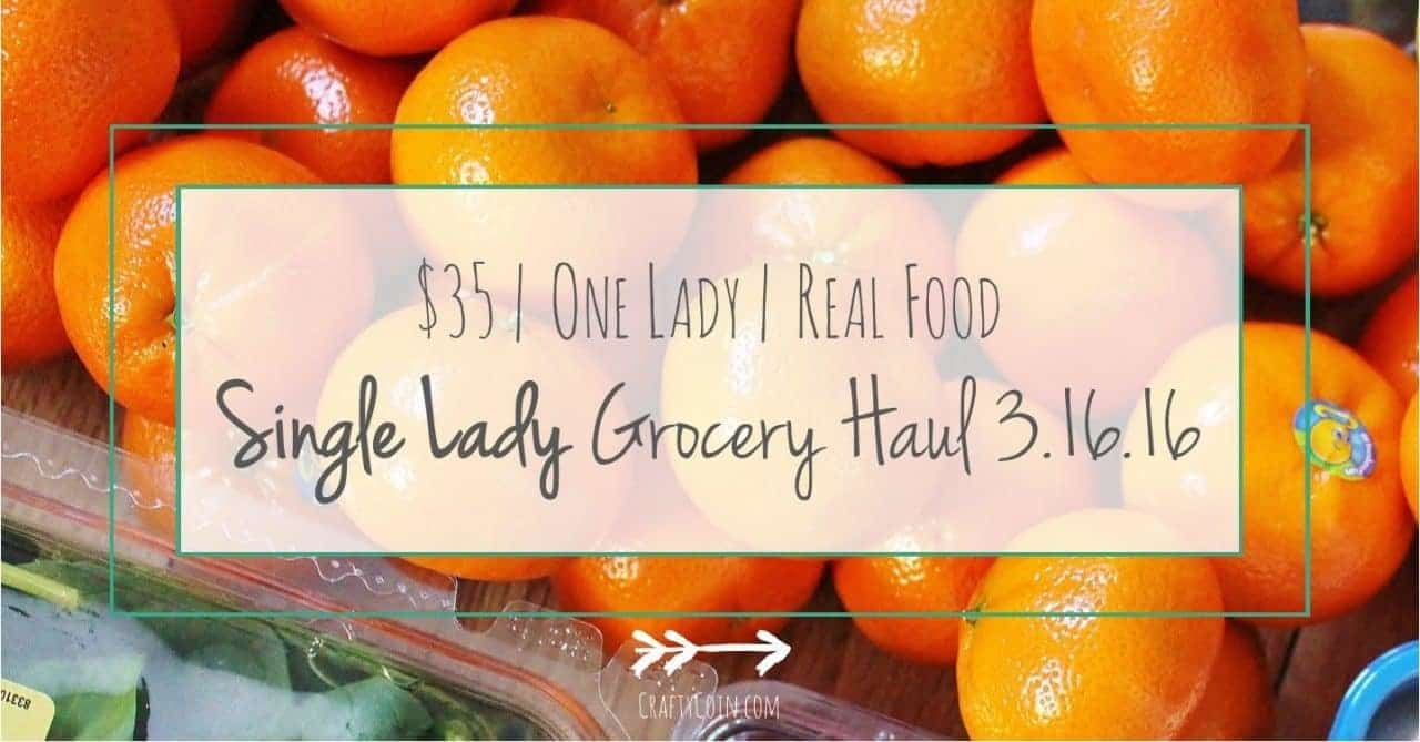 Single Lady Grocery Haul // Week of 3.16.16