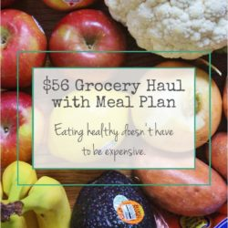 Healthy Budget Grocery Haul // Week of 4.24.16